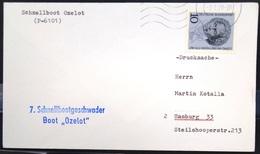 """ALLEMAGNE Rep.Fédérale - BUND - Brief Mit Schiffspost-Stempeln, Dabei """" OZELOT """" - [7] West-Duitsland"""
