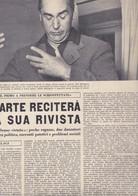(pagine-pages)ORIANA FALLACI Scrive: Su CURZIO MALAPARTE    L'europeo1955/503. - Books, Magazines, Comics
