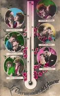 Thermomètre De L'amour, Couple Fleurs (sapi - Coppie