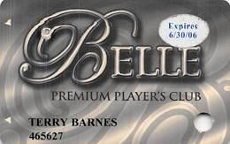 Belle Of Baton Rouge Casino - Baton Rouge, LA - Premium Player's Club Slot Card - Cartes De Casino