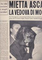 (pagine-pages)ORIANA FALLACI Scrive: Su MIETTA ASCARI    L'europeo1955/503. - Books, Magazines, Comics