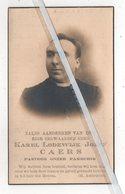 EERW. HEER KAREL LODEWIJK CAERS ° WESTERLOO 1878 + WESPELAAR 1935 PASTOOR /LERAAR ST.STANISLASCOLLEGE TE BERCHEM - Images Religieuses