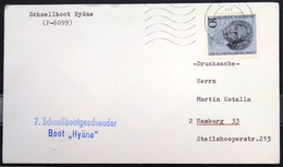 """ALLEMAGNE Rep.Fédérale - BUND - Brief Mit Schiffspost-Stempeln, Dabei """" HYÄNE """" - [7] West-Duitsland"""