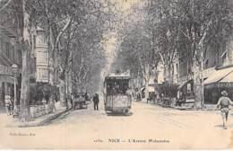 06 - NICE : L'Avenue Malausséna ( Tramway En 1er Plan ) CPA Village (   Habitants )   - - Otros