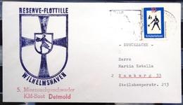 """ALLEMAGNE Rep.Fédérale - BUND - Brief Mit Schiffspost-Stempeln, Dabei """" DETMOLD """" - [7] West-Duitsland"""
