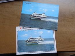 """2 X Oostende - Dover; Boeing Jetfoil """"Sealink"""" --> Onbeschreven - Oostende"""