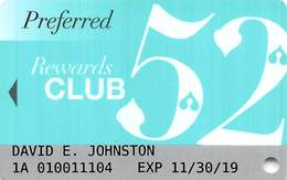 SLS Casino - Las Vegas, NV -  Slot Card - Carte Di Casinò