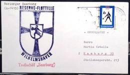 """ALLEMAGNE Rep.Fédérale - BUND - Brief Mit Schiffspost-Stempeln, Dabei """" SAARBURG """" - [7] West-Duitsland"""