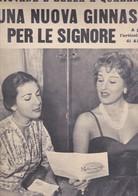 (pagine-pages)SILVANA PAMPANINI    L'europeo1955/503. - Books, Magazines, Comics