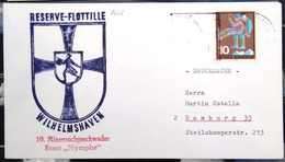 """ALLEMAGNE Rep.Fédérale - BUND - Brief Mit Schiffspost-Stempeln, Dabei """" NYMPHE """" - [7] West-Duitsland"""