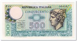 ITALY,500 LIRE,1974,P.94,,XF+ - [ 2] 1946-… : République