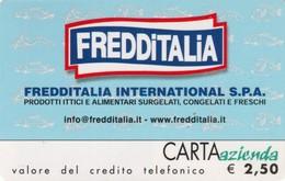 *CARTA AZIENDA 2° Tipo: FREDDITALIA - Cat. 661* - NUOVA (MINT) (DT) - Italie