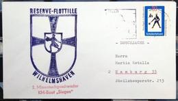 """ALLEMAGNE Rep.Fédérale - BUND - Brief Mit Schiffspost-Stempeln, Dabei """" SIEGEN """" - [7] West-Duitsland"""