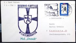 """ALLEMAGNE Rep.Fédérale - BUND - Brief Mit Schiffspost-Stempeln, Dabei """" DORSCH """" - [7] West-Duitsland"""