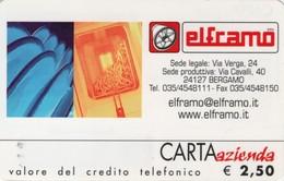 *CARTA AZIENDA 2° Tipo: ELFRAMO - Cat. 664* - NUOVA (MINT) (DT) - Italie