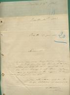 16 Rouillac Charente Lot De 3 Lettres Du 29 Juin 1905, 30 Septembre 1903, 7 Octobre 1903 - Agriculture