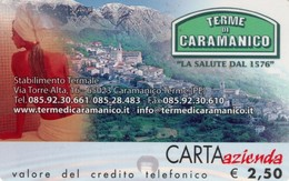 *CARTA AZIENDA 2° Tipo: TERME DI CARAMANICO - Cat. 671* - NUOVA (MINT) (DT) - Italie