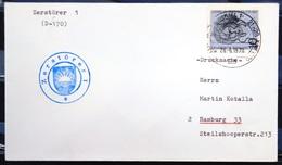 """ALLEMAGNE Rep.Fédérale - BUND - Brief Mit Schiffspost-Stempeln, Dabei """" ZERSTÖRER 1 """" - [7] West-Duitsland"""