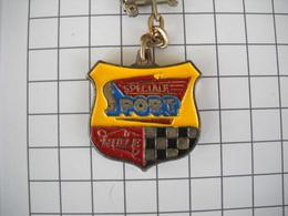 1108 Porte Clefs Renault  Huile Spéciale  Sport Automobile - Schlüsselanhänger