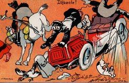 ESPOSIZIONE INTERNAZIONALE DI AUTOMOBILI - TORINO 1904 - CARTOLINA ORIGINALE DI ATTILIO MUSSINO - N 4/222 - Illustratori & Fotografie