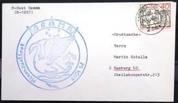 """ALLEMAGNE Rep.Fédérale - BUND - Brief Mit Schiffspost-Stempeln, Dabei """" GEMMA """" - [7] West-Duitsland"""