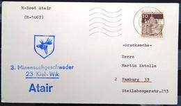 """ALLEMAGNE Rep.Fédérale - BUND - Brief Mit Schiffspost-Stempeln, Dabei """" ATAIR """" - [7] West-Duitsland"""