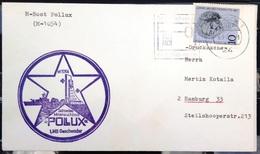 """ALLEMAGNE Rep.Fédérale - BUND - Brief Mit Schiffspost-Stempeln, Dabei """" POLLUX """" - [7] West-Duitsland"""
