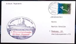 """ALLEMAGNE Rep.Fédérale - BUND - Brief Mit Schiffspost-Stempeln, Dabei """" VEGESACK """" - [7] West-Duitsland"""