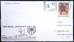 """ALLEMAGNE Rep.Fédérale - BUND - Brief Mit Schiffspost-Stempeln, Dabei """" ACHERON """" - [7] West-Duitsland"""