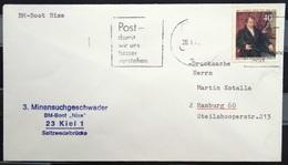 """ALLEMAGNE Rep.Fédérale - BUND - Brief Mit Schiffspost-Stempeln, Dabei """" NIXE """" - [7] West-Duitsland"""