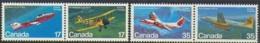 "-Canada-1981-""Canadian Aircraft""- M.N.H. (**) - Nuovi"