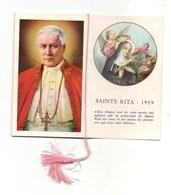 Livret De 16 Pages D'images Pieuse, Prières Et Calendrier Sainte Rita 1959 - Images Religieuses