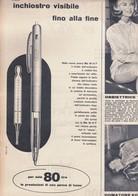 (pagine-pages)PUBBLICITA' BIC  Tempo1958/22. - Books, Magazines, Comics