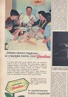 (pagine-pages)PUBBLICITA' MARGARINA GRADINA  Tempo1958/22. - Books, Magazines, Comics