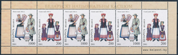 Mi 412-13 MNH ** Sheetlet / Folk Costumes, Trachten - Bielorrusia