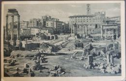 Italy , Roma , Foro Romano Con Il Tempio Di Castore , Used - Autres Monuments, édifices