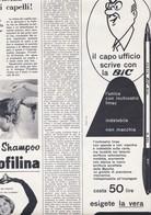 (pagine-pages)PUBBLICITA' BIC   Oggi1957/25. - Books, Magazines, Comics
