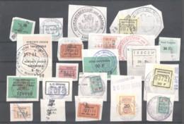 CITY REVENUES BELGIUM - Small Lot - (863926) Interesting Lot. - Revenue Stamps