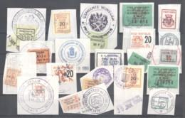 CITY REVENUES BELGIUM - Small Lot - (863927) Interesting Lot. - Revenue Stamps
