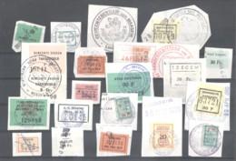 CITY REVENUES BELGIUM - Small Lot - (863938) Interesting Lot. - Revenue Stamps