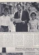 (pagine-pages)WILLIAM SAROYAN   Oggi1957/25. - Books, Magazines, Comics