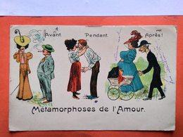 CPA.Humour.Métamorphoses De L'amour. M.M.Br.    (D1.683) - Humor
