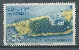 Cote Des Somalis Poste Aérienne YT N°22 Palais Du Gouverneur à Djibouti Oblitéré ° - Gebraucht