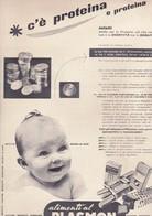 (pagine-pages)PUBBLICITA' PLASMON  Epoca1958/416. - Books, Magazines, Comics