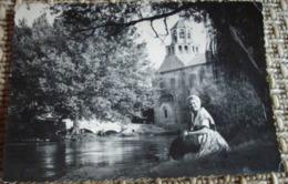 84   -    LE THOR EGLISE SAINTE MARIE AU LAC @ VUE RECTO/VERSO AVEC BORDS - France