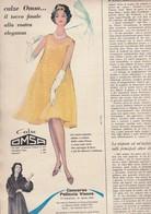 (pagine-pages)PUBBLICITA' OMSA  Epoca1958/416. - Books, Magazines, Comics