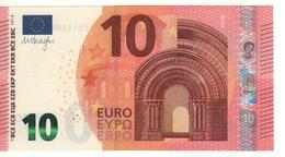 """10 EURO  """"EB""""   DRAGHI    E 005 D1      EB1530924588  /  FDS - UNC - EURO"""