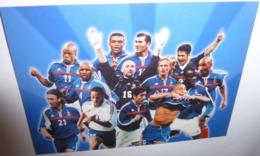 Carte Postale - Equipe De France De Football 2002 - Calcio