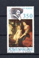 VATICANO :  Pietro Paolo Rubens  -  £  350  Usato   Del   9.12.1977 - Vatican