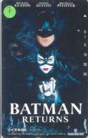 Télécarte * (7) BATMAN  * Movie FILM- Cinema - Comics - Phonecard - BD